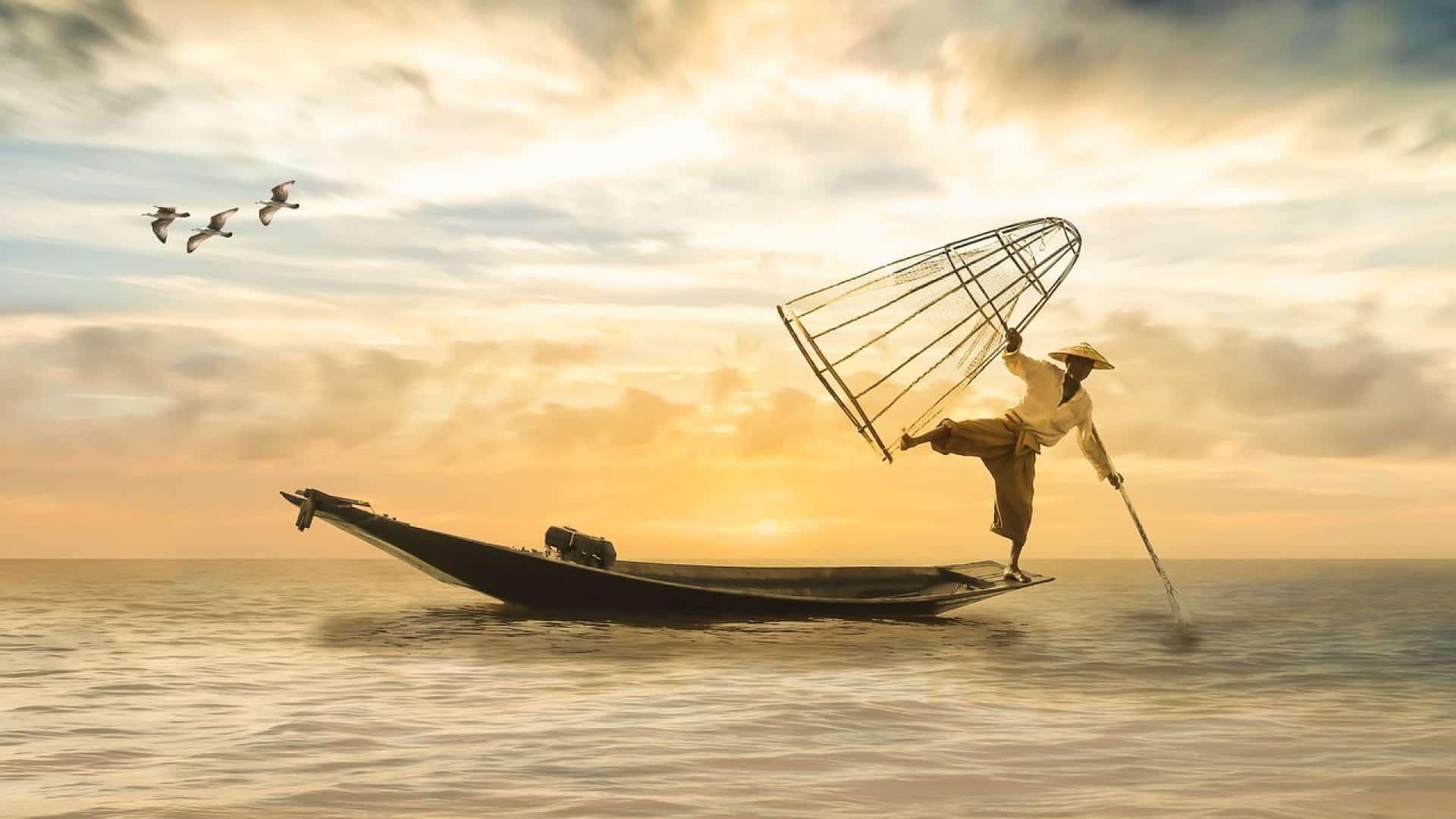 Comment amorcer lorsque l'on débute la pêche?